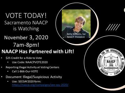 2020 VOTE TODAY! 2